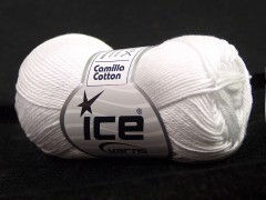 Camilla bavlna - opticky bílá