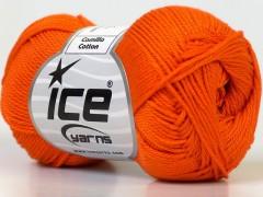 Camilla bavlna - oranžová