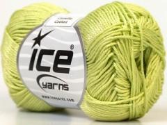 Camilla bavlna - světle zelená
