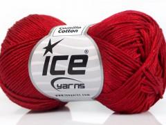 Camilla bavlna - tmavě červená