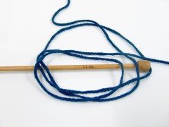 Chain Paillette - tmavě modrá