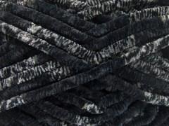 Chenille Safari - černošedé odstíny