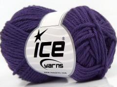 Čistá bavlna - purpurová