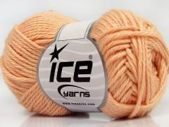 Čistá bavlna - světle lososová