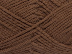 Čistá bavlna - tmavě hnědá