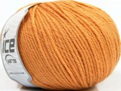 Čistá vlna - světle oranžová