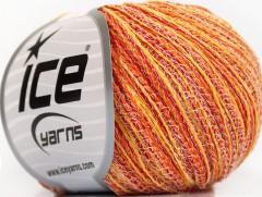 Color love - oranžovočervenožlutobílá