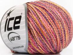 Color love - purpurovorůžovožlutobílá