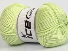 Cottonac glitz - světle zelená
