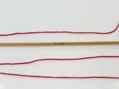 Crafty - tmavě červená