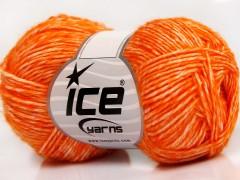 Denim - oranžová