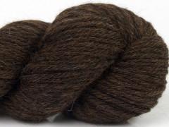 Dětská alpaka přírodní barvy - tmavě hnědá