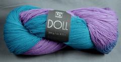 Doll Vlnap - fialovotyrkysmodrá 10172