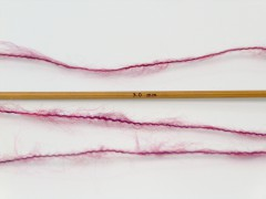 Dusty vlna - tmavě červenofialová