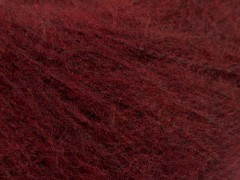 Dusty vlna - tmavě vínová