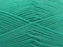 Elegantní metalická bavlna - mátově zelená
