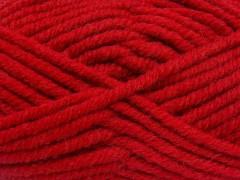 Elita vlna superbulky - červená