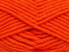 Elita vlna superbulky - oranžová