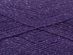 Elite shawl glitz - fialová