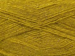 Elite shawl glitz - olivově zelená