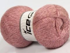 Elite shawl glitz - růžová