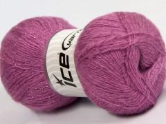 Elite shawl glitz - sladce růžová