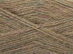 Elite shawl glitz - světlá velbloudí