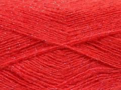Elite shawl glitz - tmavě lososová