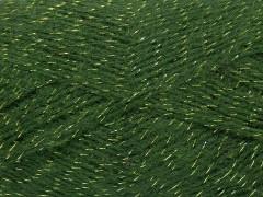 Elite shawl glitz - tmavě zelená