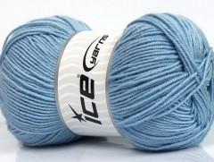 Elite vlna - světle modrá