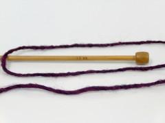 Etno Alpaka - purpurová 2