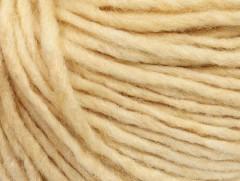 Etno Alpaka - tmavě krémová