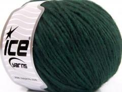 Etno Alpaka - tmavě zelená