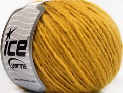 Etno Alpaka - tmavě zlatá 1