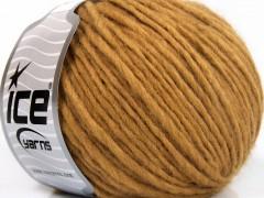 Etno Alpaka - tmavě zlatá 2