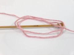 Favourite vlna - růžová melánž
