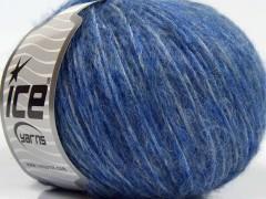 Fleecy vlna - modré odstíny