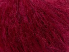Fleecy vlna - ruby červená