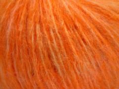 Fleecy vlna - světle oranžová