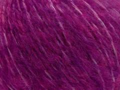 Fleecy vlna - tmavě fuchsiová