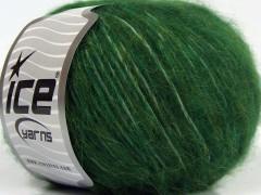 Fleecy vlna - tmavě zelená