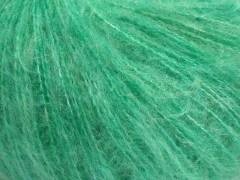Fluffy superfajn - mátově zelená