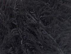 Fur superkid mohér - antracitově černá