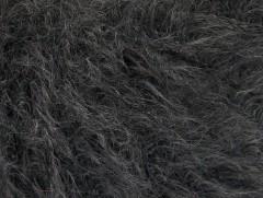 Fur superkid mohér - tmavě šedá