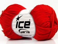 Giza bavlna - červená