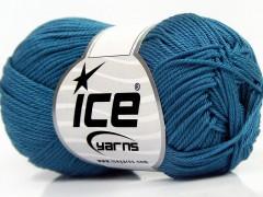 Giza bavlna - indigo modrá