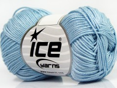 Giza bavlna - světle modrá