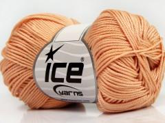 Giza bavlna - světle oranžová