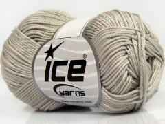 Giza bavlna - světle šedá