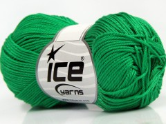 Giza bavlna - zelená